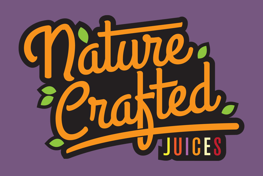 Branding for Nature Crafted Juices by KAPOW Creative