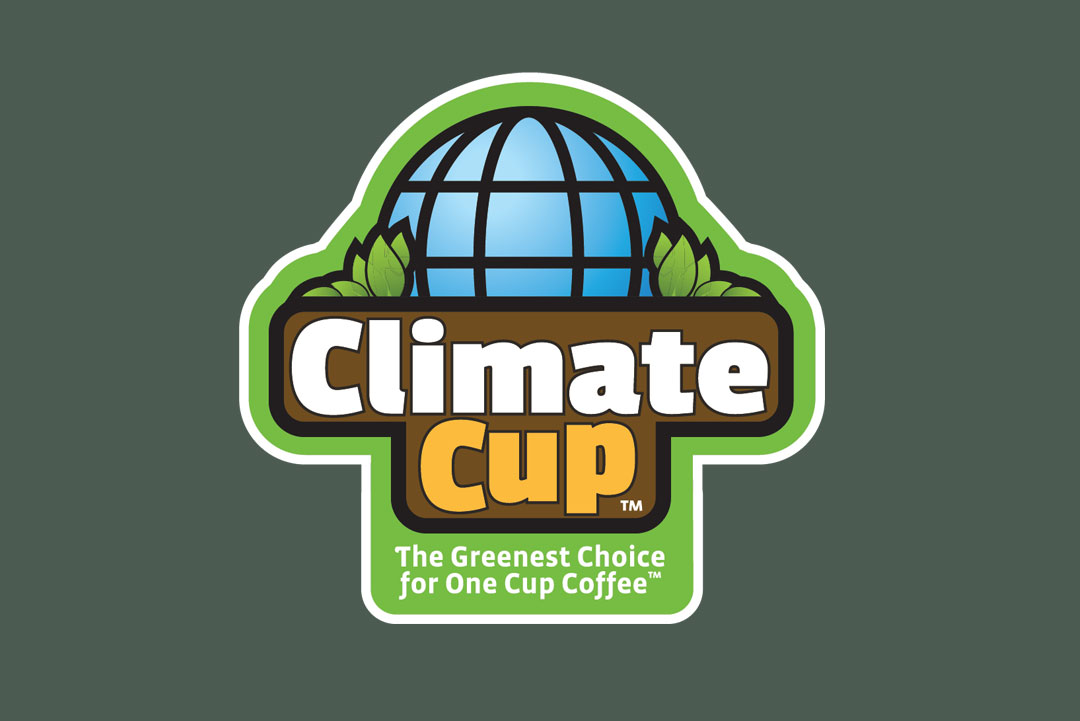Climate Cup Branding by KAPOW Creative