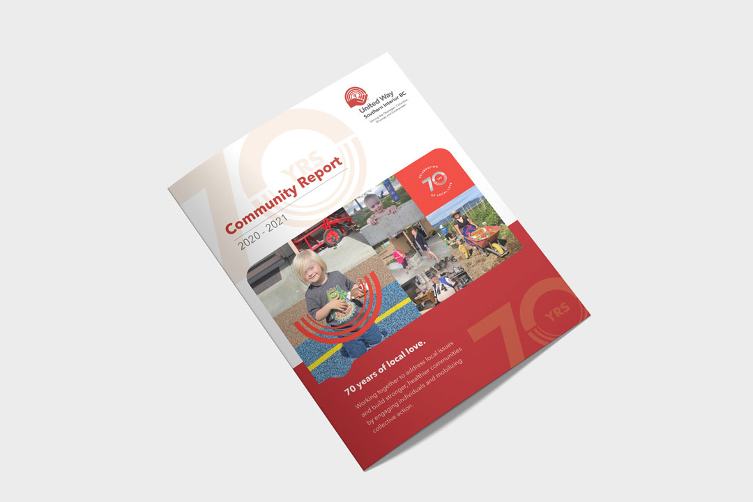 Report Design by KAPOW Creative for the United Way