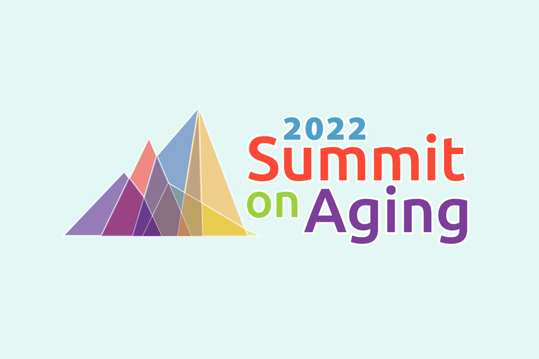 logo design by kapow creative for summit on aging